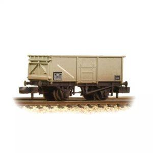 Graham Farish 377-255 16T Steel Mineral MCO Wagon BR Grey
