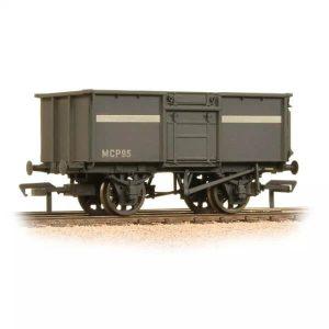 Graham Farish 377-256 16T Steel Mineral Wagon NCB Grey