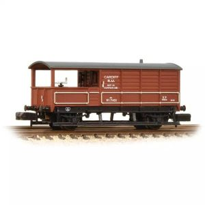 Graham Farish 377-377A 20T Toad Brake Van BR Bauxite Early