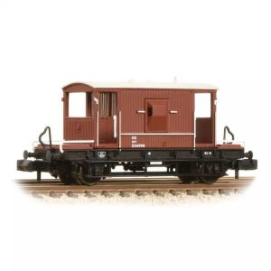 Graham Farish 377-527C 20T LNER Brake Van LNER Oxide