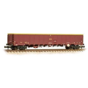 Graham Farish 377-650A MBA Megabox High-Sided Bogie Wagon EWS with Buffers Weathered