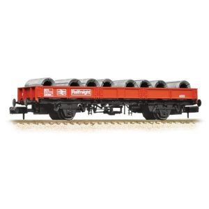 Graham Farish 377-725A SPA Wagon BR Railfreight with Steel Coil Load