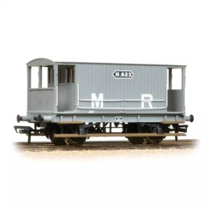 Graham Farish 377-753 20T Midland Brake Van MR Grey