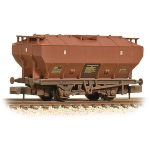 Graham Farish 377-765A Covered Hopper Wagon BR Bauxite Weathered