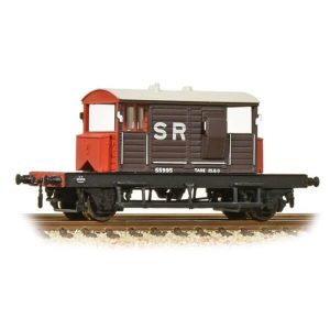 Graham Farish 377-850A 25T SR Pill Box Brake Van SR Brown