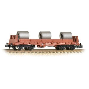 Graham Farish 377-903 BAA Steel Carrier Wagon with Steel Coils BR Brown