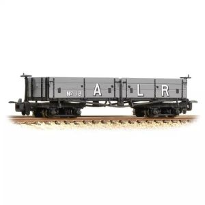 Bachmann 393-055 D Class Open Bogie Wagon Ashover Railway Light Grey (Early)