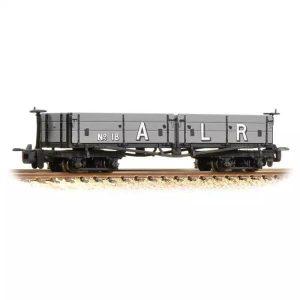 Bachmann 393-055 D Class Open Bogie Wagon Ashover Railway Light Grey (Early)