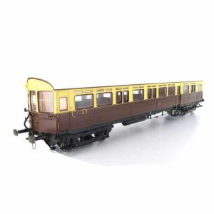 Dapol 7P-004-003 Autocoach GWR Chocolate & Cream Shirtbutton Livery