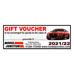 Gift Voucher 2021/22 Ford Mustang