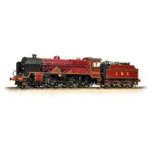 Bachmann 31-215SF Patriot Class 5551 'The Unknown Warrior' LMS Lined Crimson DCC Sound Fitted