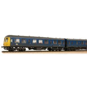 Bachmann 31-325A Class 105 2-Car DMU BR Blue Weathered