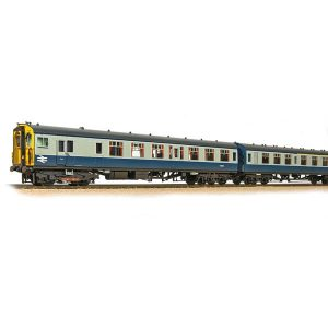 Bachmann 31-427C Class 411/4CEP 4 Car EMU 7106 BR Blue and Grey Weathered