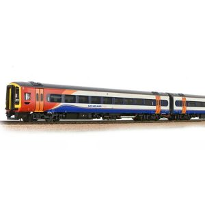 Bachmann 31-518SF Class 158 158773 2 Car DMU East Midlands Trains DCC Sound Fitted