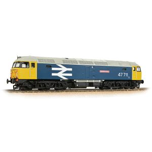 Bachmann 31-665SF Class 47/7 47771 'Greyfriars Bobby' BR Blue Large Logo DCC Sound Fitted
