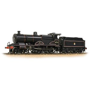 Bachmann 31-932 LMS Class 4P Compound 41123 BR Lined Black Early Crest