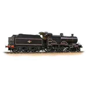 Bachmann 31-933A LMS Class 4P Compound 41123 BR Lined Black Late Crest