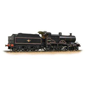Bachmann 31-933A LMS Class 4P Compound 41143 BR Lined Black Late Crest