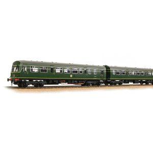 Bachmann 32-285ASF Class 101 2 Car DMU BR Green DCC Sound Fitted