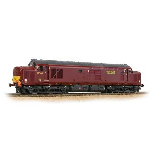 Bachmann 32-395DS Class 37/5 37669 Refurbished WCRC Maroon DCC Sound Fitted