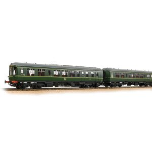 Bachmann 32-518 Derby Lightweight 2-Car DMU BR Green Early Crest