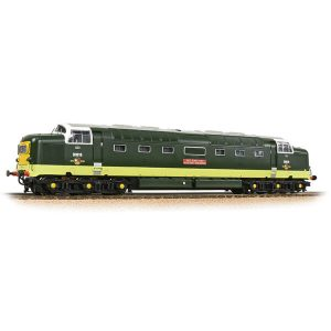 Bachmann 32-529C Class 55 D9010 'The King's Own Scottish Borderer' BR Two-Tone Green with Small Yellow Panel