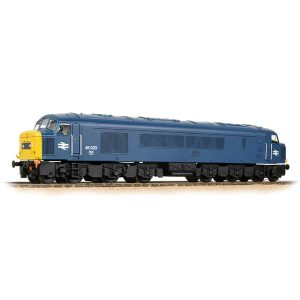 Bachmann 32-701ASF Class 46 46020 BR Blue Centre Headcode DCC Sound Fitted