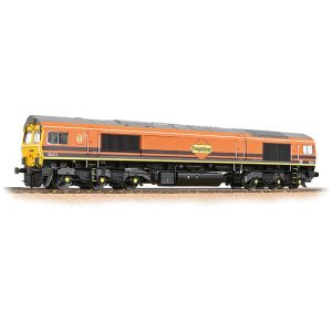 Bachmann 32-739SF Class 66/4 66413 Freightliner G&W DCC Sound Fitted