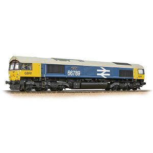 Bachmann 32-740 Class 66/7 66789 'British Rail 1948-1997' GBRF BR Blue with Large Logo