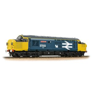 Bachmann 32-790ADS Class 37/0 37012 'Loch Rannoch' BR Blue Large Logo Split Headcode DCC Sound Fitted