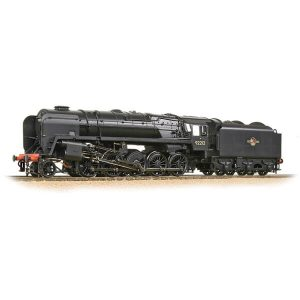 Bachmann 32-859A BR Class 9F with BR1B Tender 92212 BR Black Late Crest