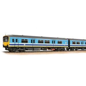 Bachmann 32-929 Class 150 150115 2 Car DMU BR Provincial with passengers