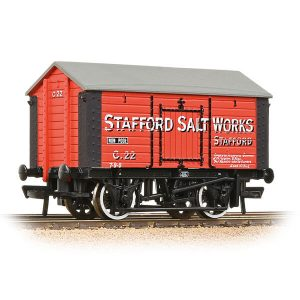 Bachmann 33-181A 10T Covered Salt Wagon Stafford Salt Works Red
