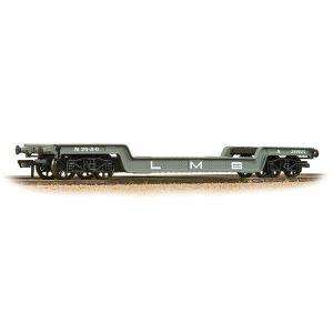 Bachmann 33-878A 45T Bogie Well Wagon LMS Grey