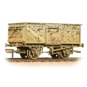 Bachmann 37-225J 16T Steel Mineral Wagon Top Flap Doors BR Grey Early Weathered