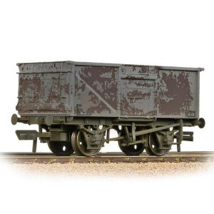 Bachmann 37-227B 16T Steel Mineral Wagon BR Grey Late Weathered