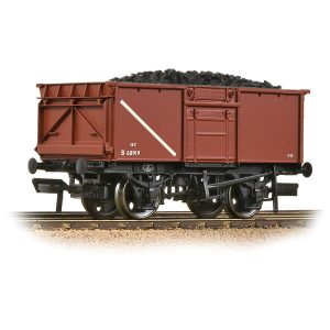Bachmann 37-256A 16T Steel Mineral Wagon BR Bauxite Early with load