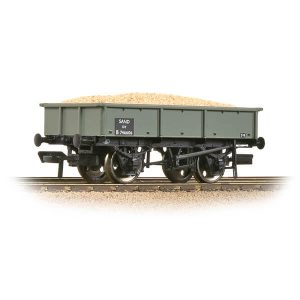 Bachmann 37-354D 13T Steel Sand Tippler Wagon BR Grey Early with load