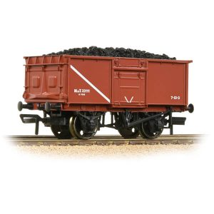 Bachmann 37-376D 16T Pressed End Door Steel Mineral Wagon MOT Bauxite with load