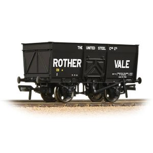 Bachmann 37-428 16T Slope Side Mineral Wagon Rother Vale Black