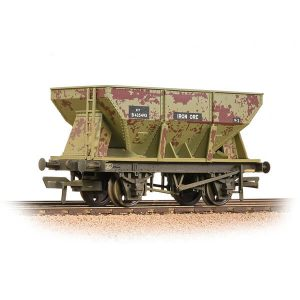 Bachmann 37-508A 24T Ore Hopper Wagon BR Grey Weathered