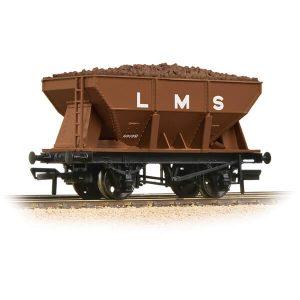Bachmann 37-509 24T Ore Hopper Wagon LMS Bauxite with load