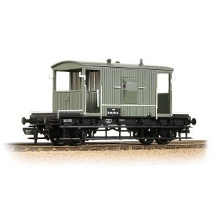 Bachmann 37-528D 20T Brake Van BR Grey Early