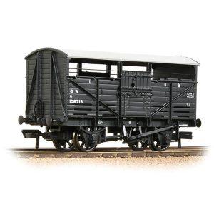Bachmann 37-711D 8T Cattle Wagon GWR Grey