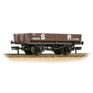 Bachmann 37-935 3 Plank Wagon SR Brown