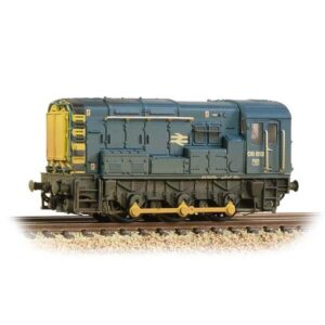 Graham Farish 371-015D Class 08 08818 BR Blue Weathered
