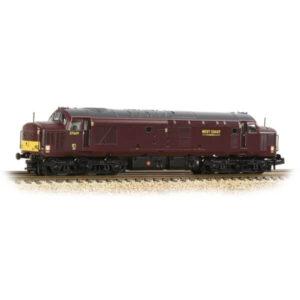 Graham Farish 371-172 Class 37/5 Refurbished 37669 WCRC Maroon