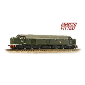 Graham Farish 371-180ASF Class 40 D248 Disc Headcode BR Green Late Crest DCC Sound Fitted