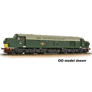 Graham Farish 371-185 Class 40 Split Headcode D338 BR Green with Small Yellow Panel