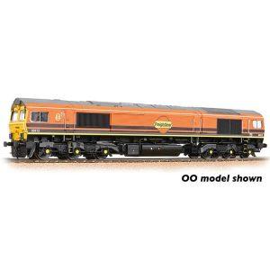 Graham Farish 371-388 Class 66/4 66413 Freightliner G&W